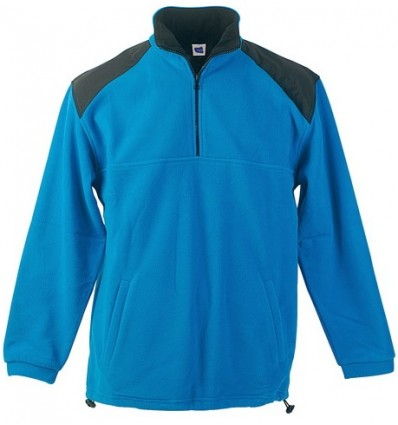 Sudadera Polar bicolor Crown azul