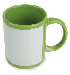 MUG SUBLIMACION COLOR VERDE