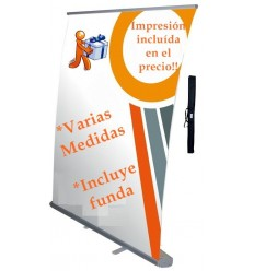Display publicidad con Roll up