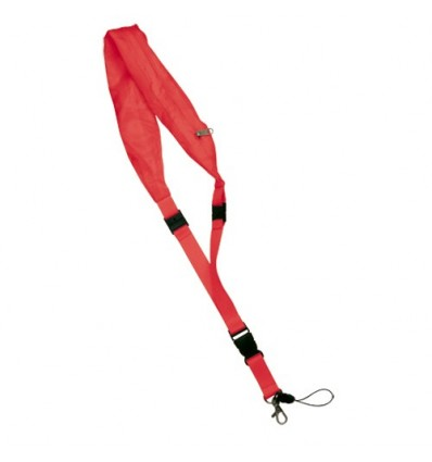 Lanyard Impermeable rojo